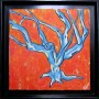 Blue Tree (framed)