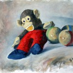 Monk the steiff stuffed monkey